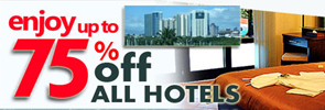 Hotel Bokking up to 75%